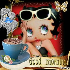 Good Morning Funny, Good Morning Greetings, Good Morning Wishes, Good Morning Images, Good Morning Quotes, Morning Messages, Morning Pictures, Imagenes Betty Boop, Betty Boop Halloween