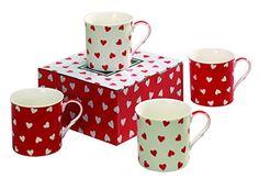 Heath McCabe Countess Hearts Fine China Mugs, Pack of 4, Red/White Heath McCabe http://www.amazon.co.uk/dp/B00JFZGSQG/ref=cm_sw_r_pi_dp_e-9nwb11M11DH