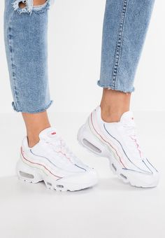 Details about WMNS NIKE AIR MAX 95 OG WHITE LIGHT AQUA 307960 115 Womens Causal Sneakers