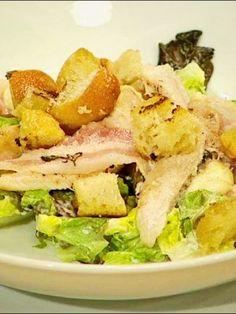 Cézar šalát s kuracím mäsom   Mamine Recepty Yummy Food, Delicious Recipes, Potato Salad, Potatoes, Ethnic Recipes, Delicious Food, Potato