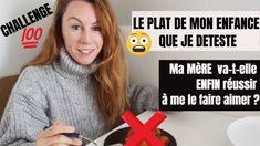 LE PLAT DE MON ENFANCE QUE JE DETESTE : Le CHALLENGE de ma Mère pour me ... Challenge, Youtube, Childhood, Dish, Recipe, Youtubers, Youtube Movies