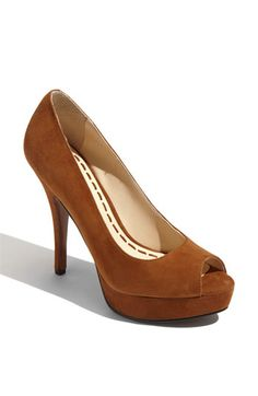 Enzo Angiolini 'Sully' Suede Platform Pump ...a Nordstrom Exclusive. Free shipping, Free returns...and currently 33% off...Woo Hoo!