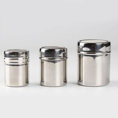 Stainless Steel Mesh Flour Sifter Icing Sugar Dredger Chocolate Powder Shaker