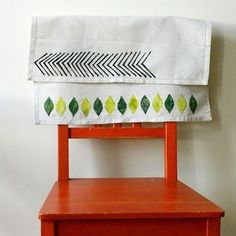 Make Your Own Graphic Print Linens with a Potato Stamp on Food52