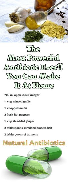 The Most Powerful Antibiotic Ever!! You Can Make It At Home Strong immunity is the best way to protect yourself of various diseases. --sponsor-- In order to have a strong immune system, you need to eat healthy, but you can also use a trick. Try this powerful drink that you can make it at home. …