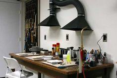Kelsi's Closet Jewelbox Design Journal: Tool Time Tuesday - Essential Soldering Setup