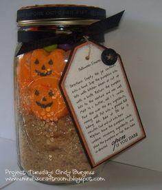 Pumpkin Peeps S'mores-in-a-Jar, Autumn, Fall and Thanksgiving Fun Foods & Creative Cuisine