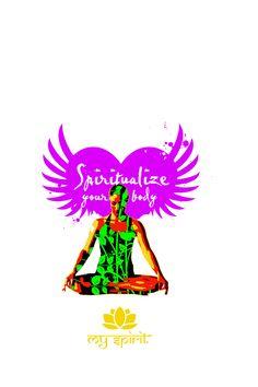 Spiritualize your body. For My Spirit Yogawear