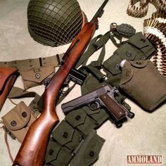 guns ammo The Carbine was designed primarily to offer noncombat and line-of-communications troops a better defensive weapon than a pistol or submachine gun. Weapons Guns, Airsoft Guns, Guns And Ammo, Survival Rifle, Survival Gear, Battle Rifle, Submachine Gun, Military Weapons, Military Brat