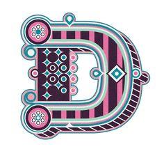 Typography :: Letter D - by Jonny Wan