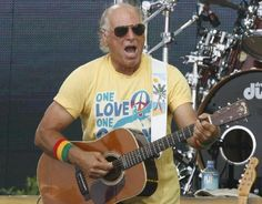 JIMMY BUFFETT - on the Gulf Coast playing a Hurricane Katrina Relief concert! I own one of those shirts!!!