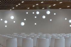 Carlos Morales Arquitectos Conference Center in Lanzarote. Beautiful shot from Ruben Acosta