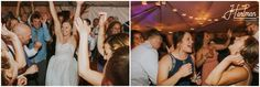 Wedding reception at Sun Mountain lodge in Outdoor Party Tent.   Image by Hartman Outdoor Photography