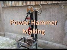 Blacksmith Power Hammer, Blacksmith Tools, Knife Making Tools, Metal Shaping, Welding Table, Metal Working Tools, Garage Tools, Homemade Tools, Metal Projects