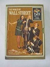Hasbro - The World of Wall Street 1969 Board Game