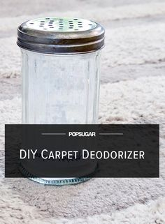 DIY Carpet and Rug Deodorizer recipe from Popsugar Homemade Cleaning Supplies, Diy Home Cleaning, Cleaning Recipes, Cleaning Hacks, Spring Cleaning, Cleaning Solutions, Diy Cleaners, Cleaners Homemade, Household Cleaners