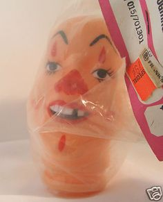 Vintage Vinyl 4 inch Franks Laughing Clown Doll Full Head bald  Mouse over image to zoom     				  Zoom InZoom Out  Sell one like this  	  Vintage Vinyl 4 inch Franks Laughing Clown Doll Full Head bald . See pics in my eBay store.