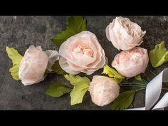 Crepe Paper Juliet Roses - Lia Griffith