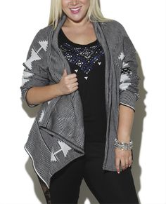 Seed Stitch Open Cardigan  from Wet Seal+