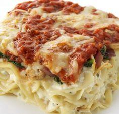 Skinny Egg Noodle Lasagna