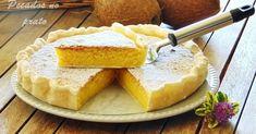 Veja como preparar uma deliciosa tarte de coco, com uma receita super simples.