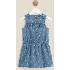 1945860acff45 Robe en jean bébé fille IN EXTENSO pas cher à prix Auchan