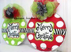 Zebra Ornament Door Hanger