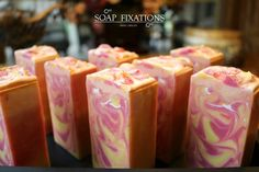 Passionate Kisses cold process soap
