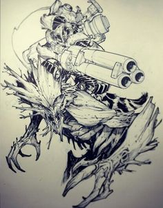 Rocket and Groot by Eric Canete  °°