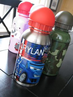 DIY::Personalized Water Bottles