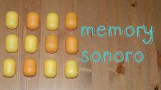 3 macarrons: Memory sonoro