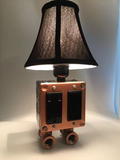 Mini Lamp With USB Charging Station