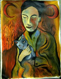 Justin Duerr - Girl with cat