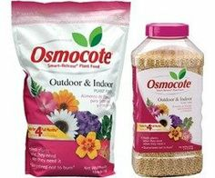Osmocote  #272101 Indoor/Outdoor Plant Food, 10lb bag by Osmocote. $30.17. Convenient for all indoor and outdoor plants,vegetables and flowers. Slow release formula feeds up to four months. Feed once a season for gorgeous results. To make healthier plants with greener foliage and stronger stems. 10 lb.,19-6-12. Osmocote, 10 LB, 18-6-12, Outdoor & Indoor Plant Food, Feeds For 6 Months, Easy To Use Because It Requires No Mixing, Just Incorporate Into The Solid &...
