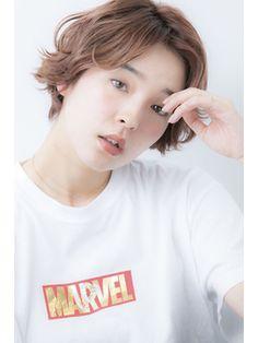 【Euphoria】ゆるふわに見えるショート2 担当 渋谷 Hair Styles, Hair Plait Styles, Hairdos, Hair Looks, Haircut Styles, Hairstyles, Style Hair, Updos, Hair Cuts