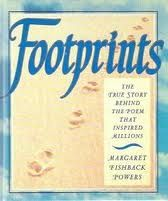 """Story behind the """"Footprints"""" poem. If you have never read this, you must! So inspiring!"""