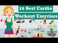 10 Best Cardio Exercises For Weight Loss, Best Way To Lose Weight - YouTube