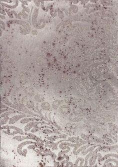 Aged Patina Glass Beaded Damask [APG-51554] : Designer Wallcoverings™