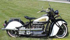 1940 INDIAN MOTORCYCLE - Highway patrol style