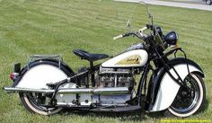 1940 INDIAN MOTORCYCLE - Highway patrol style