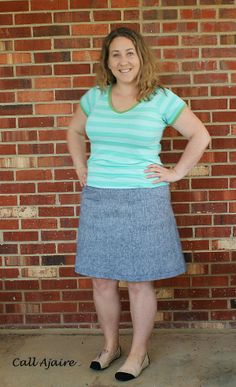 Call Ajaire: Alder Skirt and Trifecta Top for the Sew-a-bration of Womanhood