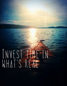 Periodicai - Cai Sepulis: Invest time in what's real. Be present. #quote
