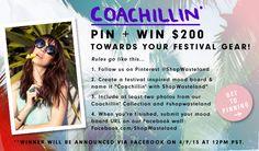 "Coachillin' ""Pin+Win"" Contest @Wasteland Inc. #shopwasteland"