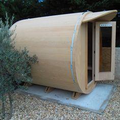Sauna traditionnel 4 places ARIZONA 1 Western Hemlock : Sauna vapeur d'extérieur