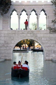 Little Venecia city in Baku