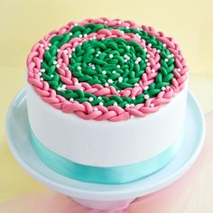 How To Decorate A Cake With Fondant Braids