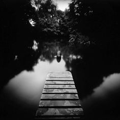 The creepy and unknown feel is great as your eye is lead through the middle of the image. Mark Tweedie › Pinhole photography
