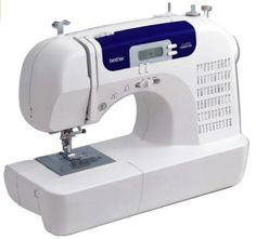 Now work on medium to heavy duty needlework projects with great ease using the Brother Computerized Sewing Machine. This hi-tech, computerized sewing machine is ideal for quilting, home decor Sewing Machines Best, Brother Sewing Machines, Sewing Machine Reviews, Sewing Tutorials, Sewing Crafts, Sewing Projects, Sewing Ideas, Sewing Tips, Online Tutorials
