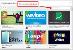 """Got to check this out.  Pinner said, """"10 Great Tools to Integrate with your Google Docs ~ Educational Technology and Mobile Learning"""""""