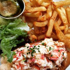Best Lobster Roll in NYC can be found at Ed's Lobster Bar in #soho